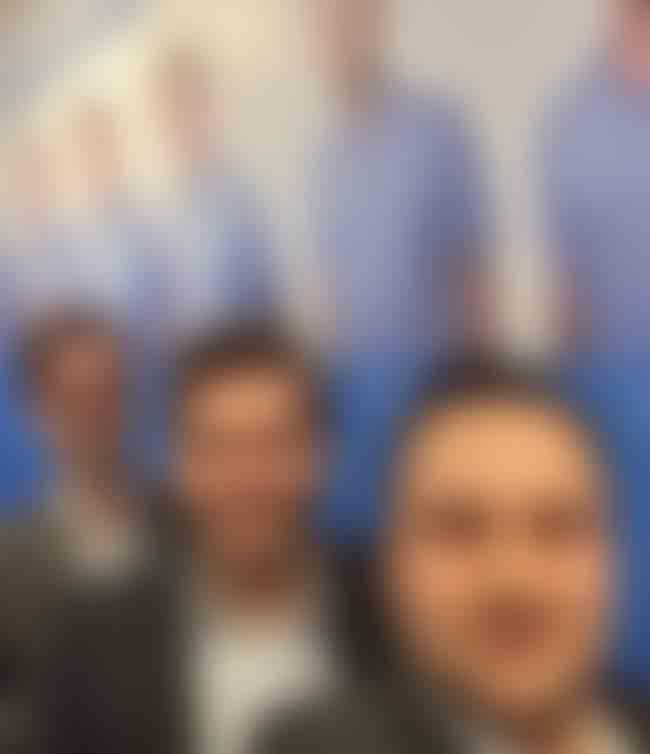 hosting.de team selfie