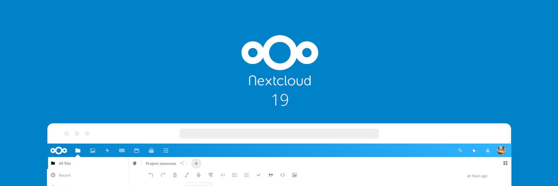 Managed Nextcloud erfolgreich auf Nextcloud 19 aktualisiert
