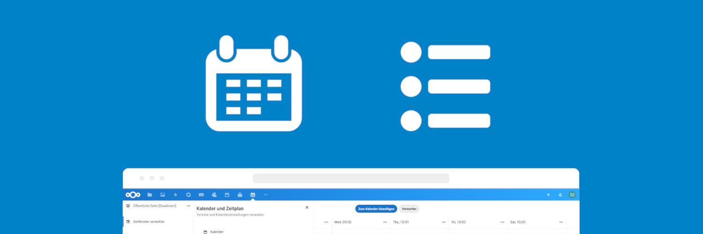 Nextcloud Appointments und Forms