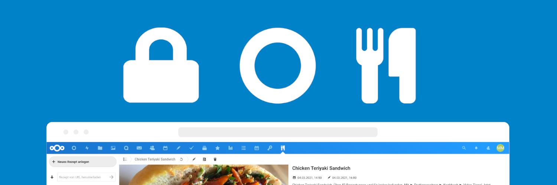 Ende-zu-Ende-Verschlüsselung, Dashboard und Cookbook jetzt für Managed Nextcloud verfügbar