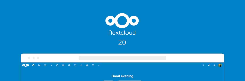 Managed Nextcloud erfolgreich auf Nextcloud 20 synchronisiert