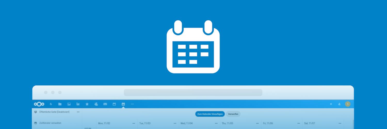 Mit der Nextcloud App Appointments einfach Termine vereinbaren