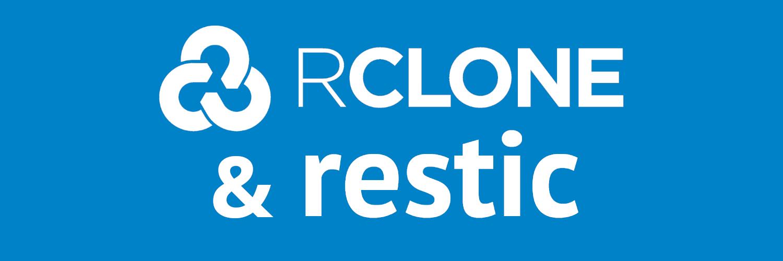 Fertige verschlüsselte Backups mit Rclone und Restic in Nextcloud an